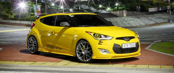 Modified Hyundai Velosters Hit the Streets of Korea