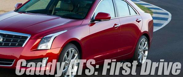 2013 Cadillac ATS First Drive