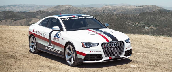 Audi RS5 and Ducati Multistrada 1200S Meet at Pikes Peak