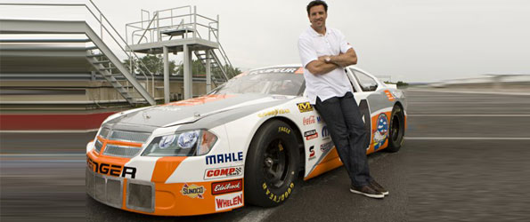 Patrice Brisebois races at Trois-Rivières this weekend for NASCAR