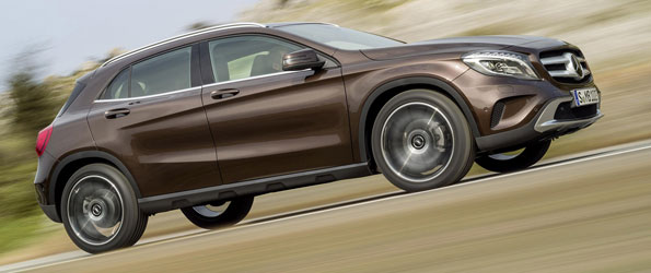 Mercedes GLA Revealed