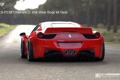 Ferrari 458 widebody kit