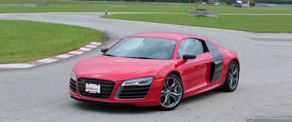 2014 Audi R8 V10 Plus Track Test
