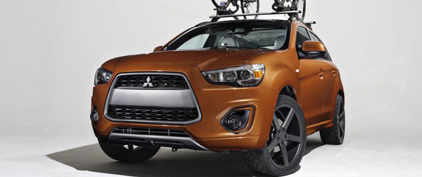 Mitsubishi Offers Customized SUVs for Outdoor Enthusiasts