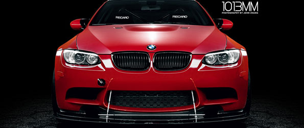 Because Race Car: Red M3