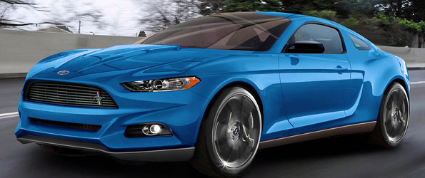 New Mustang Rednering