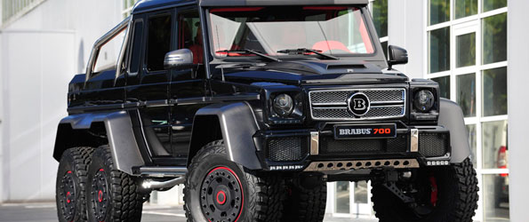 Mercedes-Benz G63 AMG B63S-700 6×6 by Brabus