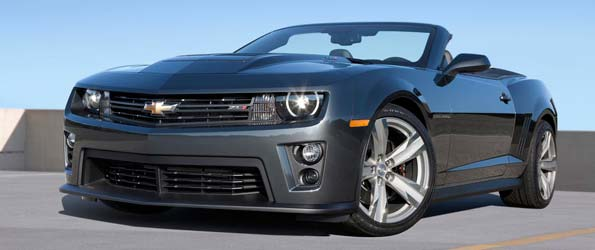 Camaro ZL1 Convertible Revealed