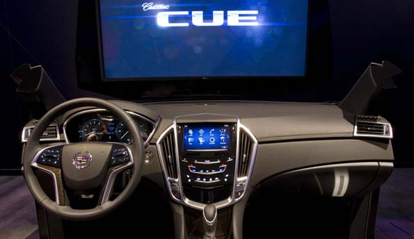 Cadillac CUE Launches as the next Big Thing in in-car Telematics