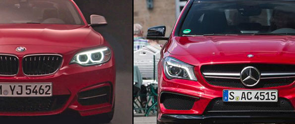 BMW M235i vs. Mercedes CLA45 AMG