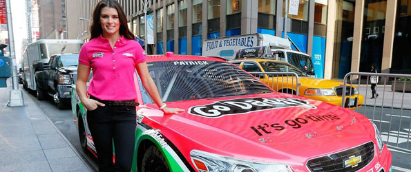 Danica Patrick goes Pink for October