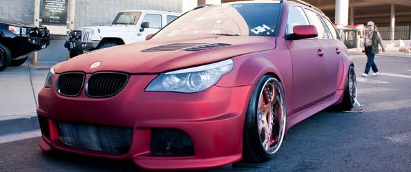 Flat Pink 5-Series Touring