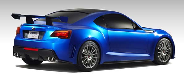 Subaru BRZ STI Concept Revealed