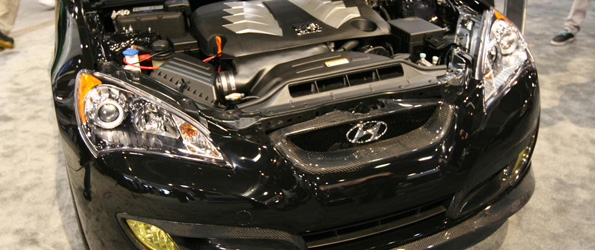 "Hyundai ""Serious"" About Genesis Coupe V8"