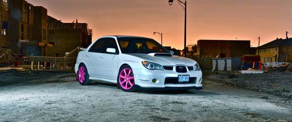 Subaru WRX Nightshot