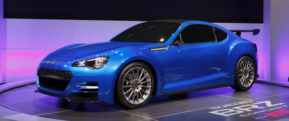 Subaru BRZ STI Concept is Tuned-up Without the Turbo or AWD