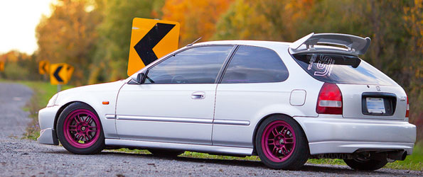 "TWOLITREmedia Presents: ""My Civic's Fall Shoot"""