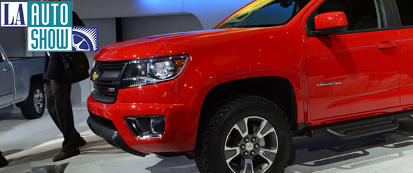 2015 Chevy Colorado Unveiled to the World in Los Angeles