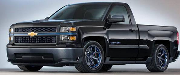 2014 Chevrolet Silverado SS Render