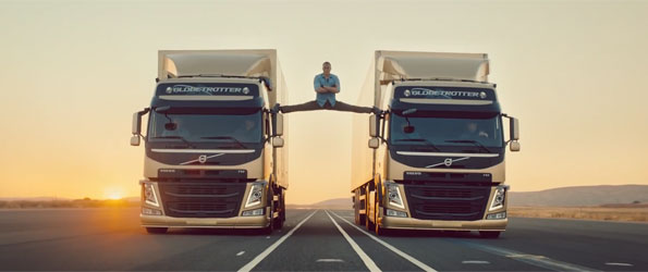 The Epic Split: Jean Claude Van Damme wows in new Volvo ad