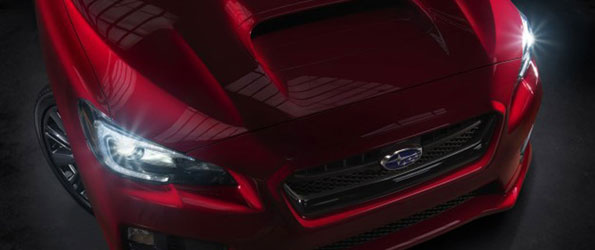 First Image of 2015 Subaru WRX Revealed