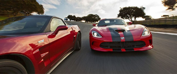 2013 Chevrolet Corvette ZR1 sets lap record at Laguna Seca, beats new SRT Viper